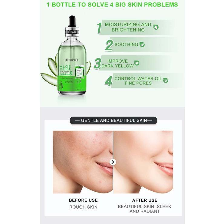 Dr.Rashel Aloe Vera Soothe & Smooth Primer Serum - zapple.pk