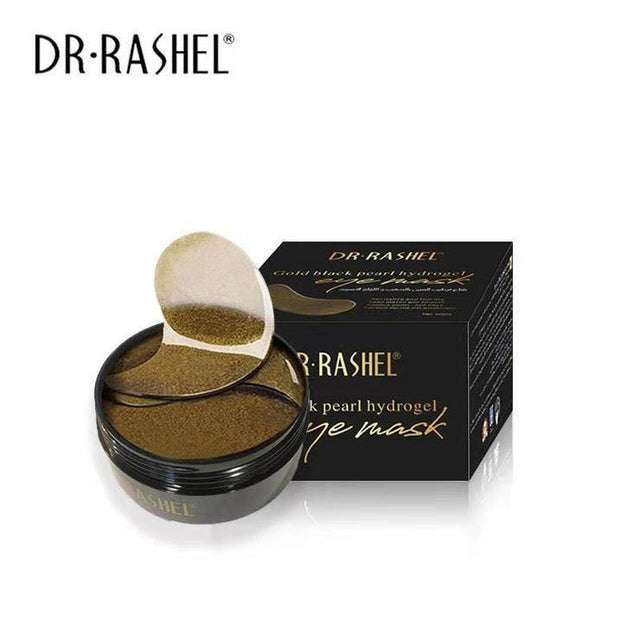 Dr.Rashel Gold Black Pearl Hydrogel Eye Mask - zapple.pk