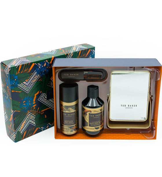 Ted Baker London Night Jar Cashmere Gold Men's Gift Set
