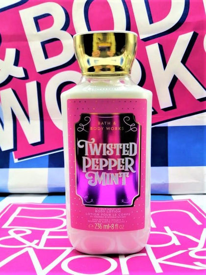 Bath & Body Works Twisted Peppermint Body Lotion - 236ml - zapple.pk
