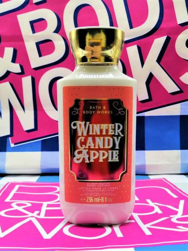 Bath & Body Works Winter Candy Apple Body Lotion - 236ml - zapple.pk
