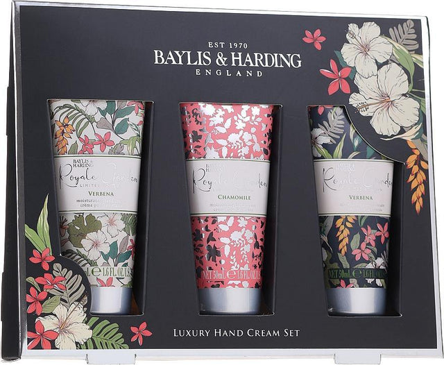 Baylis & Harding Royale Garden Hand Cream Gift Set - 3pc