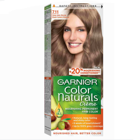 Garnier Color Naturals 7.11 Deep Ashy Blonde - zapple.pk