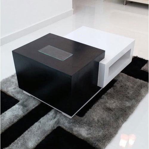 Creative Solutions Furniture Center & Side Stylish Black & White Table - CST-38