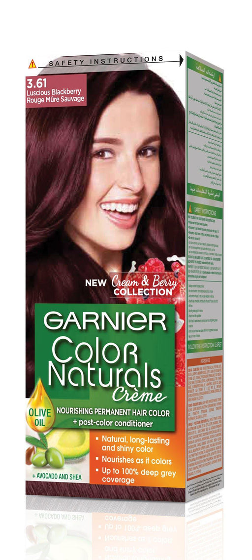 Garnier Color Naturals 3.61 Luscious Blackberry - zapple.pk