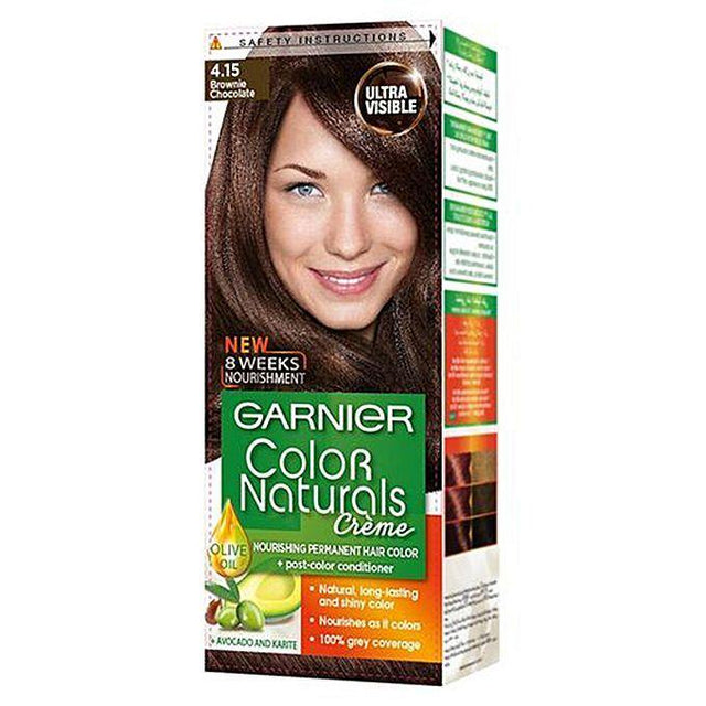 Garnier Color Naturals 4.15 Brownie Chocolate - zapple.pk