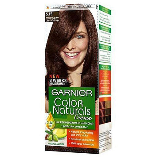 Garnier Color Naturals 5.15 Mahogany Ash Light Brown - zapple.pk