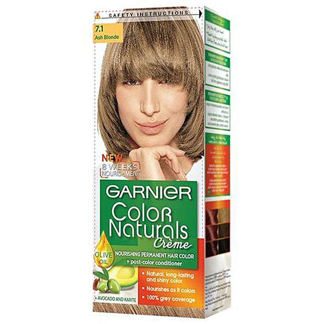 Garnier Color Naturals 7.1 Ash Blonde - zapple.pk