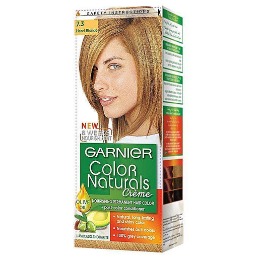 Garnier Color Naturals 7.3 Hazel Blonde - zapple.pk