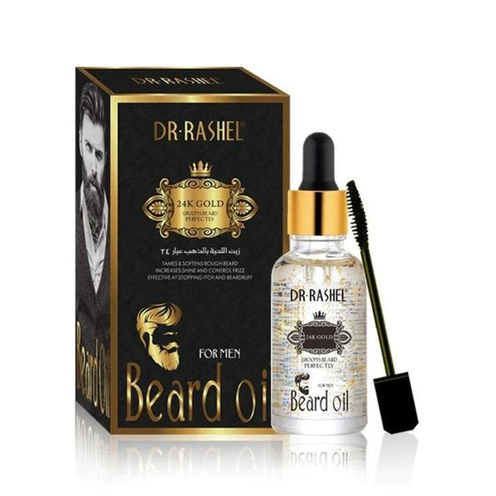 Dr.Rashel 24K Gold Grooms Beard Perfectly for Men - zapple.pk