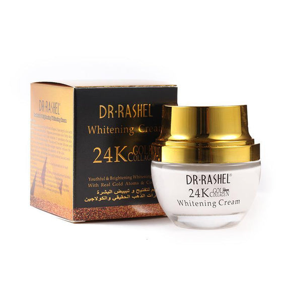 Dr.Rashel 24K Gold Collagen Whitening Cream - zapple.pk