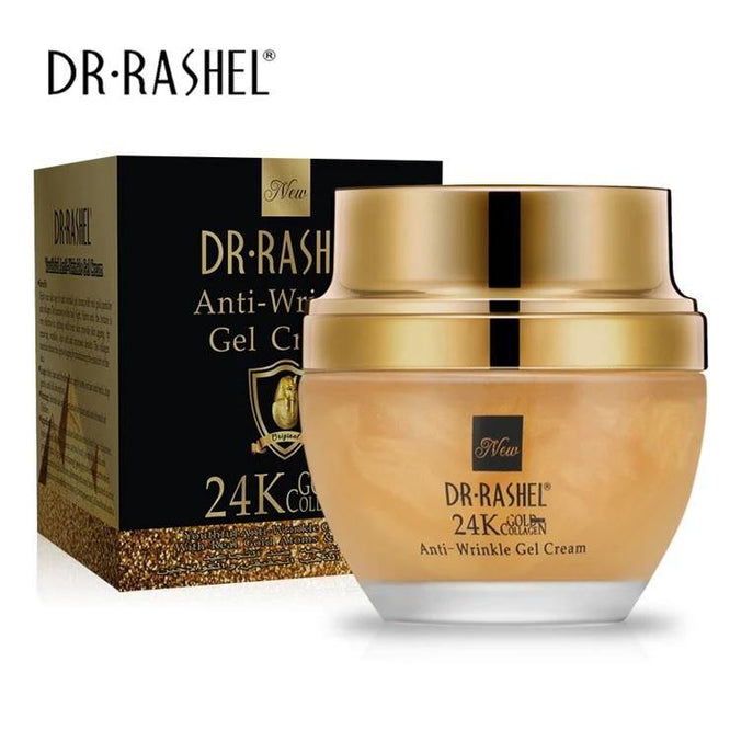 Dr.Rashel 24 K Gold Collagen Youthful Anti Wrinkle Whitening Gel Cream - zapple.pk