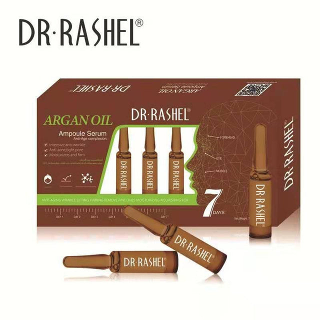 Dr.Rashel Argan Oil Anti Age Complexion Ampoule Face Serum - zapple.pk