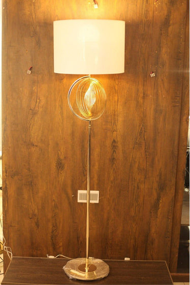 Modern Golden Plated Decorative Floor Lamp - FL05 - zapple.pk