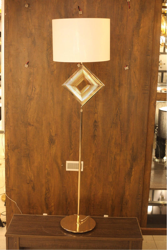 Modern Golden Plated Decorative Floor Lamp - FL07 - zapple.pk