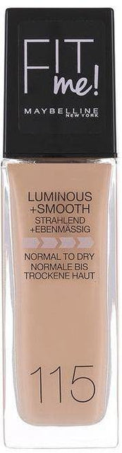 Maybelline Fit Me Liquid Foundation - 115 Ivory - zapple.pk