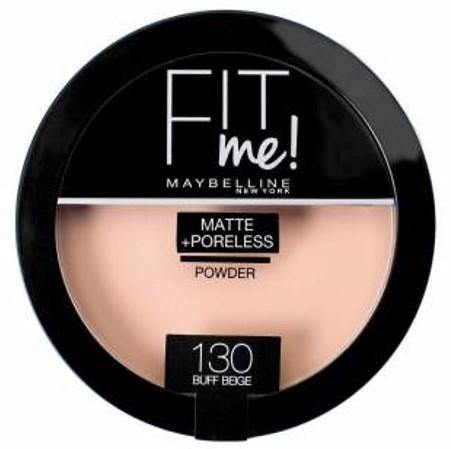 Maybelline Fit Me Matte + Poreless Powder 130 Buff Beige - zapple.pk