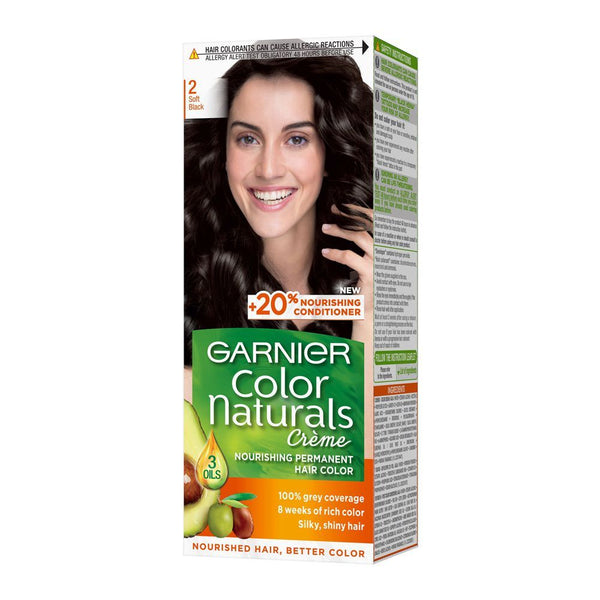 Garnier Color Naturals 2 Soft Black - zapple.pk