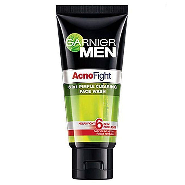 Garnier Men Facewash Acno Fight 100ml - zapple.pk