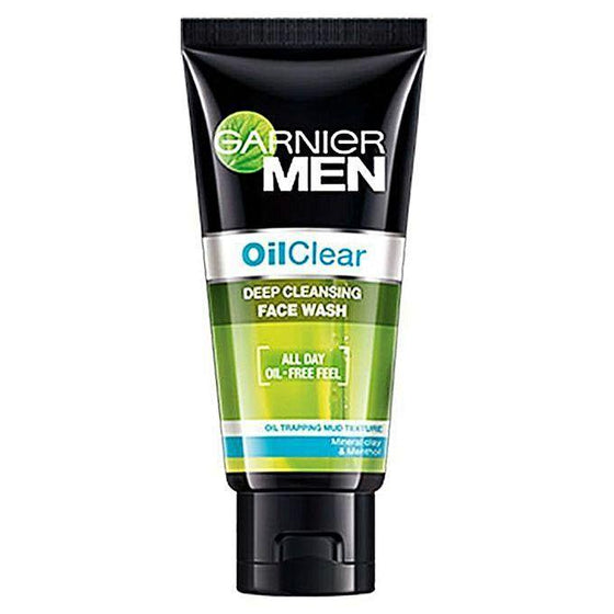 Garnier Men Facewash Oil Clear 100ml - zapple.pk