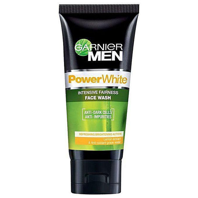 Garnier Men Facewash Power White 100ml - zapple.pk