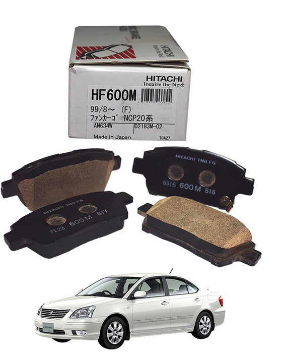 Toyota Premio 2001 to 2007 - Disc Brake Pads Front