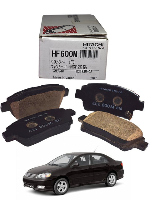 Toyota Corolla 2003 to 2008 - Disc Brake Pads Front - zapple.pk