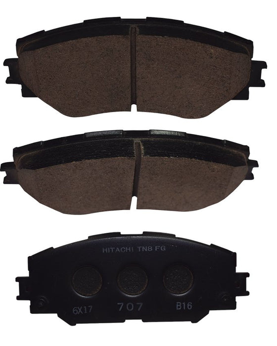 Toyota I.s.t 2008 to 2014 - Disc Brake Pads Front