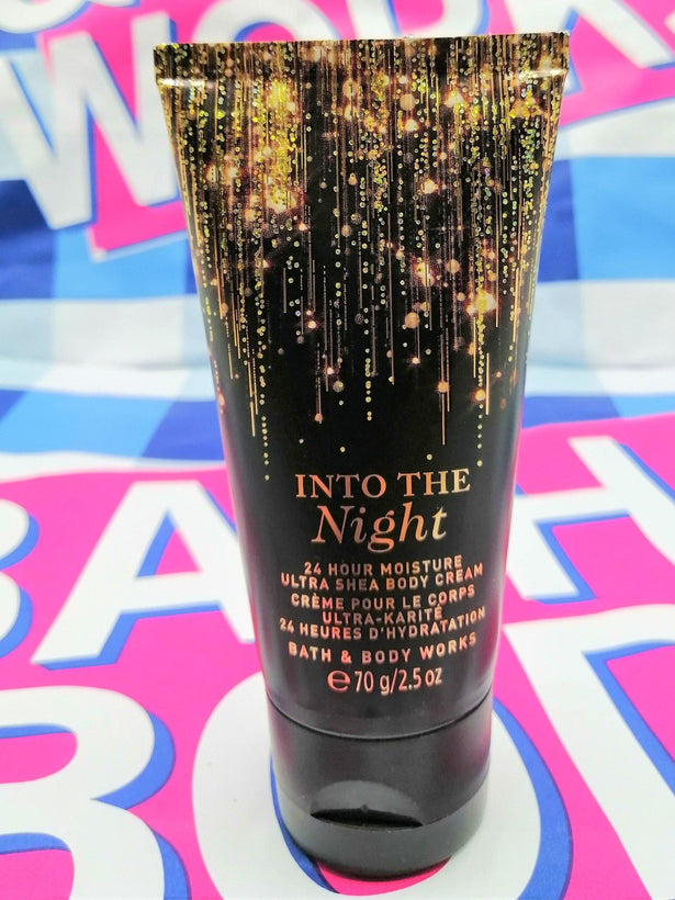 Bath & Body Works Into The Night Body Cream - 70ml - zapple.pk