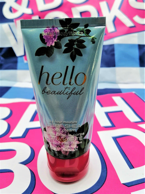 Bath & Body Works Hello Beautiful Ultra Shea Body Cream - 70ml