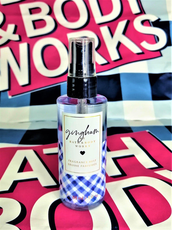 Bath & Body Works Gingham Fragrance Mist Perfume - 88ml - zapple.pk
