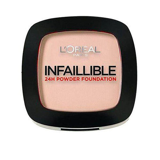 L'ORÉAL Paris Infallible Powder Foundation 24H Warm Vanilla 123 - zapple.pk