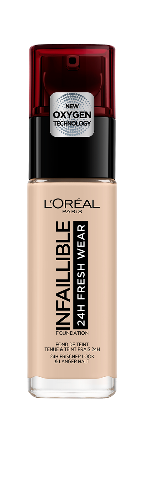L'ORÉAL Paris Infallible 24H Liquid Foundation - 015 Porcelain - zapple.pk