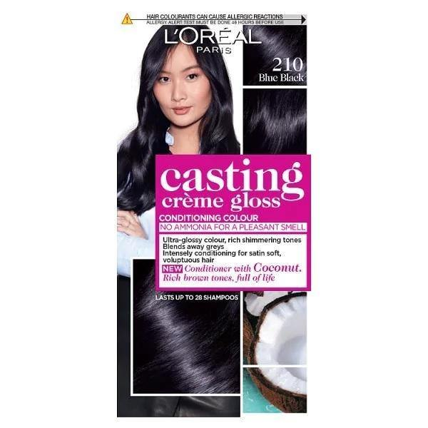 L'ORÉAL Paris Casting Creme Gloss 210 Blue Black