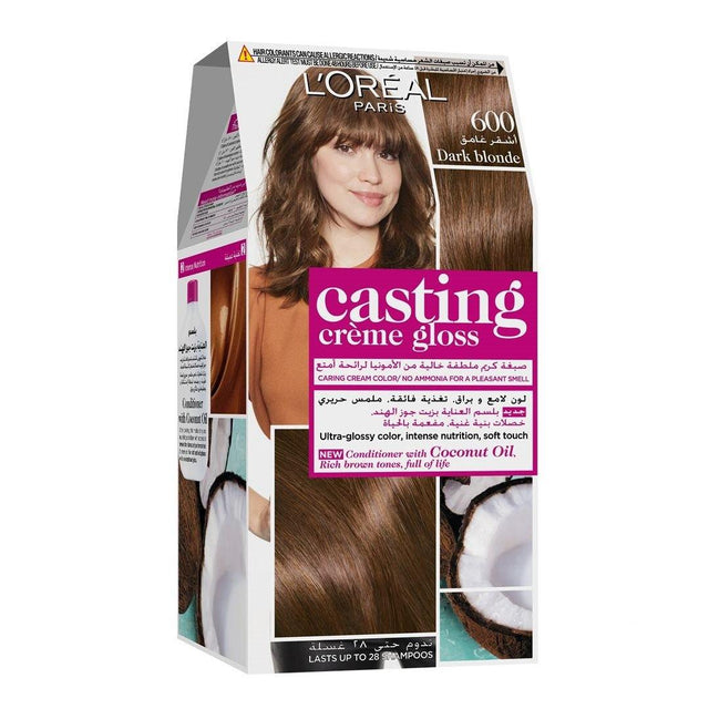 L'ORÉAL Paris Casting Creme Gloss 600 Dark Blonde ( Brown )