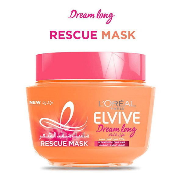 L'ORÉAL Paris Elvive Dream Long Rescue Hair Mask - 300ml - zapple.pk