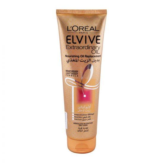 L'ORÉAL Paris Elvive Extraordinary Oil Nourishing Oil Replacement Tube 300ml - zapple.pk