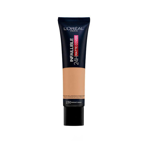 L'ORÉAL Paris Infallible 24H Matte Cover Foundation 230 Radiant Honey - 30ml - zapple.pk