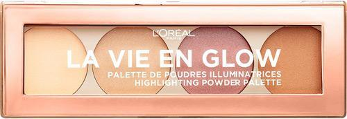 L'ORÉAL Paris La Vie En Glow Highlighter Powder Wult Palette Nu - 01 Warm Glow