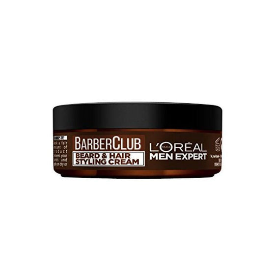 L'ORÉAL Paris Men Expert Barber Club Beard And Hair Styling Cream - 75ml