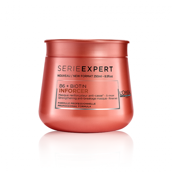 L'ORÉAL Paris Professionnel Serie Expert Inforcer Anti-Breakage Hair Masque - 250ml - zapple.pk