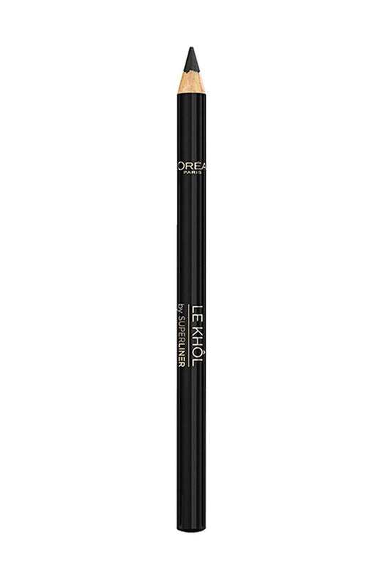 L'ORÉAL Paris Superliner Le Khol Eyeliner - 101 Midnight Black - zapple.pk