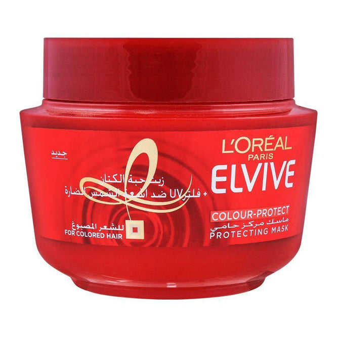 L'ORÉAL Paris Elvive Color Protect Hair Mask - 300ml - zapple.pk