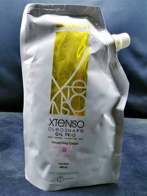 L'ORÉAL Professionnel Xtenso Oleoshape Oil Trio Smoothing Cream For Normal Hair ( Pink ) - 400ml - zapple.pk