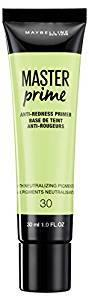 Maybelline Master Prime Primer - 30 Anti-Redness - zapple.pk