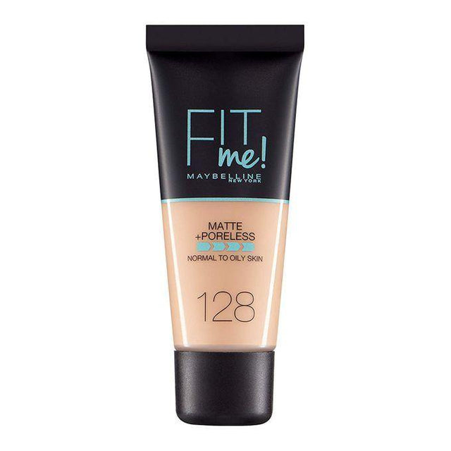 Maybelline Fit Me Liquid Foundation Matte & Poreless - 128 Warm Nude