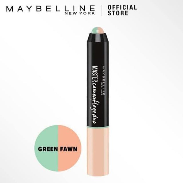 Maybelline Master Camouflage Duo Face Concealer Stick Green Fawn