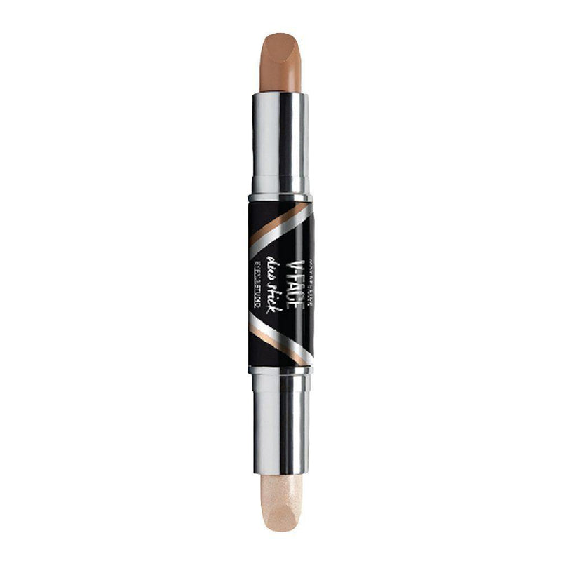 Maybelline V-Face Duo Stick 03 Dark - 8g - zapple.pk