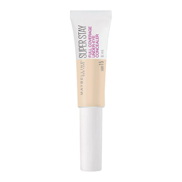 Maybelline Superstay Full Coverage Under-Eye Concealer 15 Light - 6ml