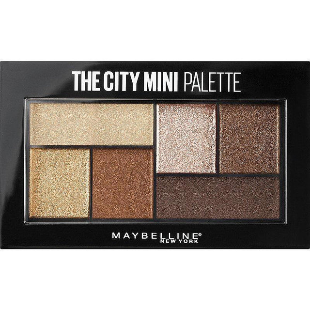 Maybelline The City Mini Eyeshadow Palette - Rooftop Bronzes - zapple.pk